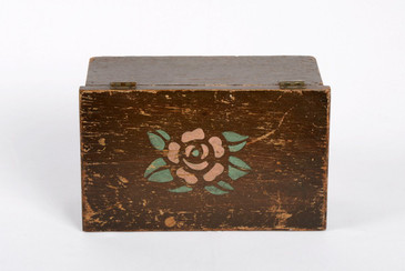 SOLD - American Craftsman Antique Wood Box, Handmade, Free Shipping