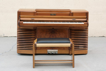 "1939 Original Story & Clark ""Storytone"" Electric Piano and Bench"