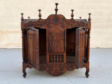 SOLD - 19th Century French Panettiere/ Bread Cupboard, Free U.S. Shipping