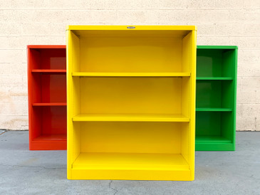 1960s McDowell Craig Tanker Bookcase, Custom Colors Refinished to Order