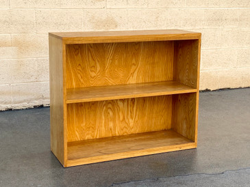 SOLD - Mid Century Oak Bookshelf by Woodland of California