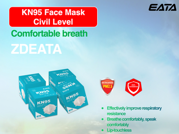 KN95 Face Masks, 25 Count, Free Shipping