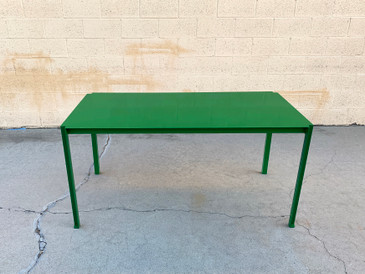 Rehab Original Steel Dining or Work Table, Custom Colors