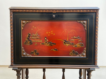 1920s Chinoiserie Writing Desk by Rockford Furniture