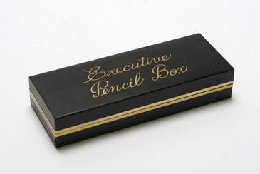 "Mid Century ""Executive Pencil Box,"" Office Desk Storage, Free U.S. Shipping"