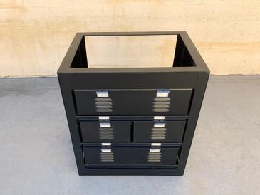 Custom Made 2 x 3 Vanity Locker Basket Unit, Designed for a Sink