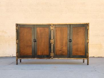 Vintage Industrial Credenza/ Storage Cabinet
