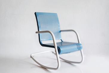 SOLD - Mid-Century Modern Child's Rocking Chair