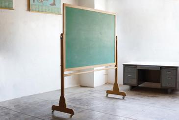 SOLD - Large Vintage Schoolhouse Chalkboard
