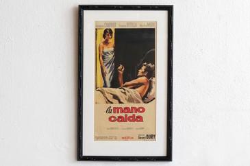 SOLD - 1959 Italian Poster, La Mano Calda, Manfredo Acerbo