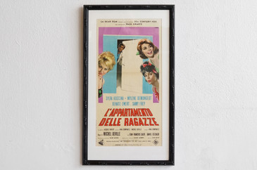 SOLD - 1964 Italian Movie Poster, L'Appartamento, Giuliano Nistri