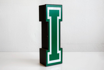 "Vintage Channel Letter ""I"" Varsity Style, Free Shipping"