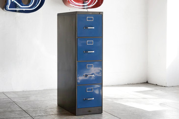 1960s Steelcase Filing Cabinet, Custom Refinished, Call for Availability