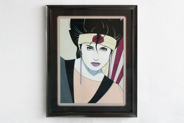 SOLD - Patrick Nagel, Commemorative #3, 1984, Original Ed. Serigraph