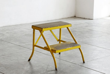 SOLD - Vintage Industrial Step Stool, 3 Available