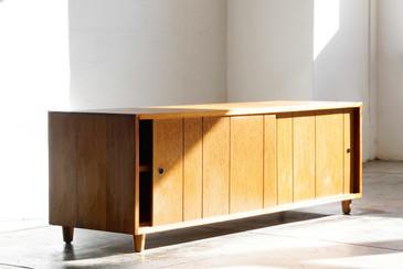 SOLD - Mid Century Modern Wood Credenza
