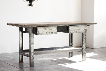 SOLD - Mitsy's Workbench: Vintage Steel and Reclaimed Wood