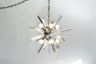 SOLD - 1960s Murano Sputnik Pendant Light