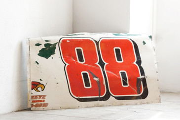 SOLD - Vintage Sprint Car Panel as Wall Art