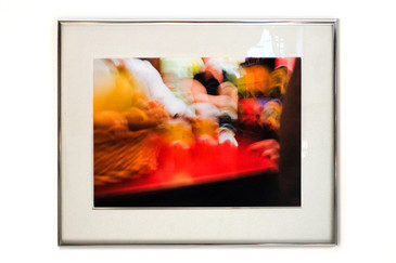 "SOLD - Contemporary Abstract ""Movement"" Photograph, Framed"