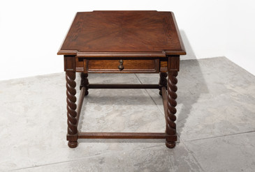SOLD - Small Barley Twist Table End Table c.1970