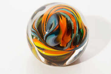 "SOLD - Vintage ""Swirl""  Paper Weight"