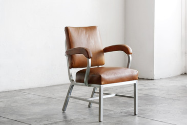SOLD - Machine Age Armchair by General Fireproofing