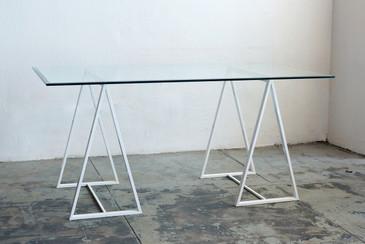 SOLD - Minimalist Triangle Table Legs, c. 1960s
