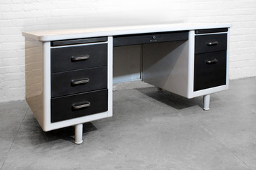 Refurbished Steelcase Tanker Desk, C. 1965 - CUSTOM ORDER