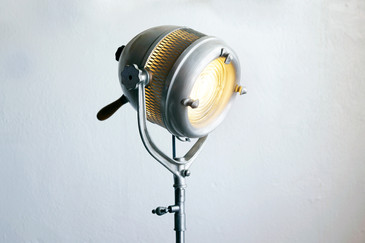 SOLD - Beattie Hollywood Industrial Movie Light, c.1940s