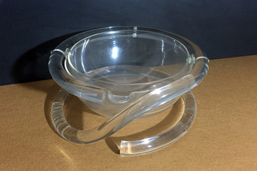 Rare Dorothy Thorpe Lucite Dish, Free Shipping