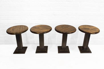 SOLD-Custom-Made Industrial Stools, 2016