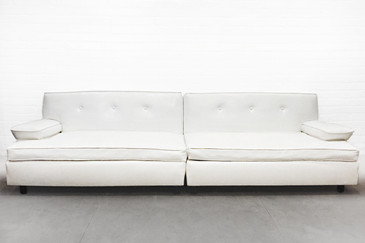 SOLD - Killer Mid-Century Two-Section Sofa, circa 1960s