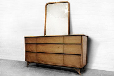 SOLD - Art Deco Lowboy Dresser from RWay