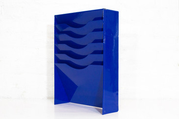 SOLD - Electric Blue File Holder