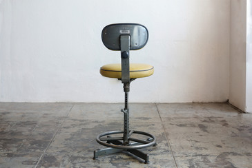 SOLD - Vintage Drafting Stool by Cramer, Circa 1940s