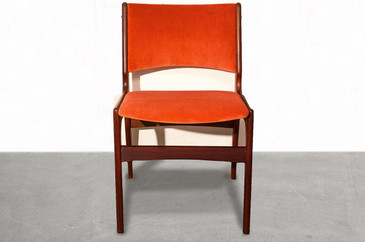 SOLD - Set of Four Arne Vodder Style Teak Side Chairs