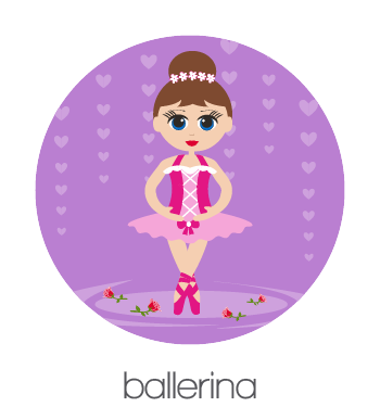 BobbleArt Ballerina Collection