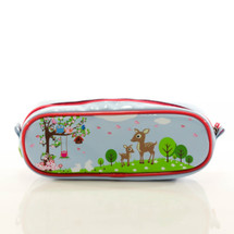 Bobble Art Woodland Barrel Pencil Case