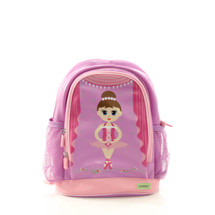 Bobble Art Ballerina Small Poly Vinyl Backpack