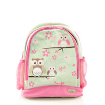 Bobble Art Owl Large Poly Vinyl Backpack