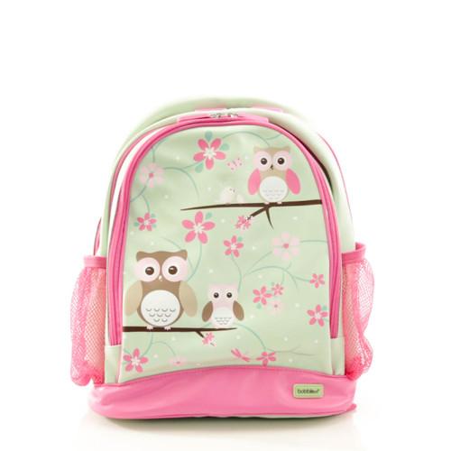 Bobble Art Owl Large Poly Vinyl Backpack