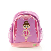 Bobble Art Ballerina Large Poly Vinyl Backpack