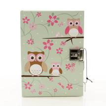 Bobble Art Owl Diary