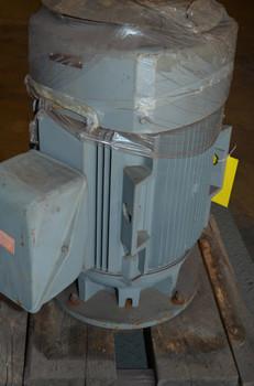 GE, 40 HP, L324HP16, 1775, 1800, 460, 5K324FP229 Electric, Vertical, Motor New Surplus