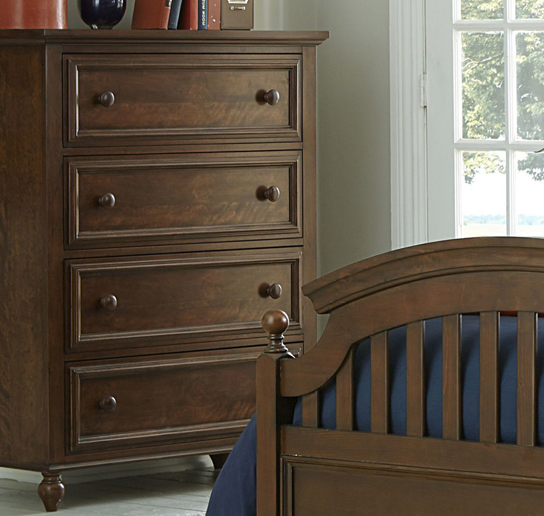 Academy Drawer Chest in Cinnamon