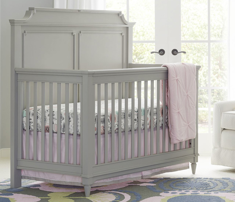 Clementine Court Built To Grow Crib - Grey