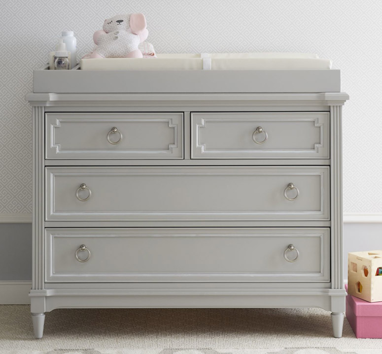 Clementine Court Single Dresser - Grey