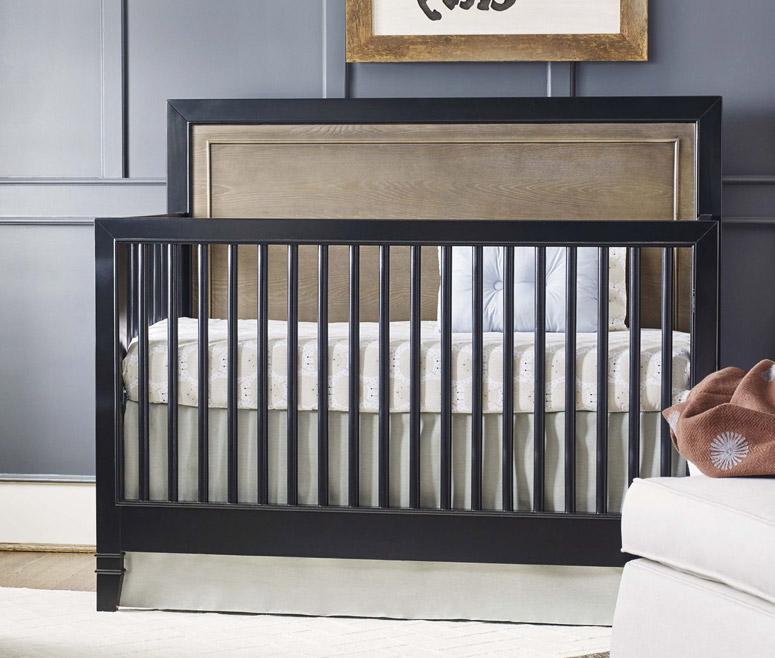 myRoom Convertible Crib - Dark