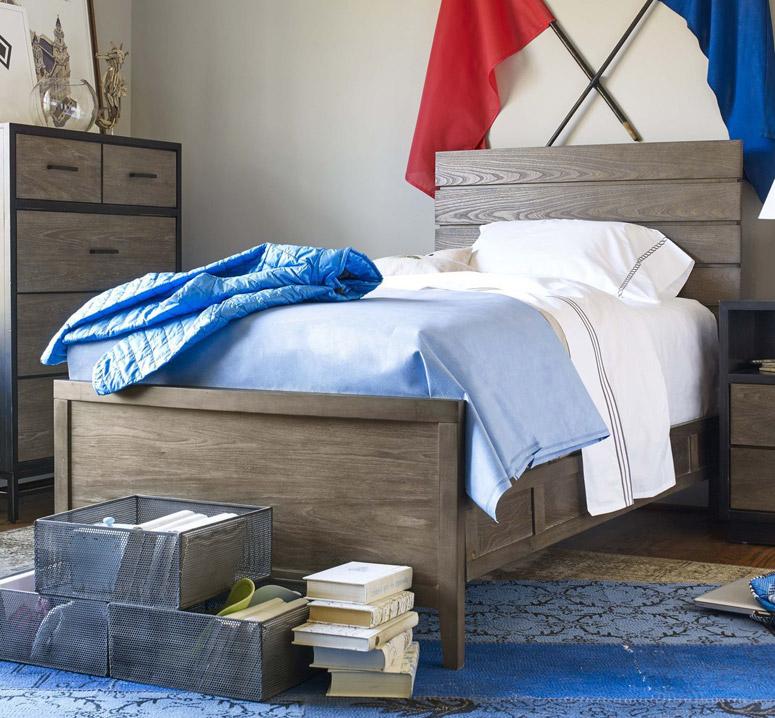 myRoom Reading Bed, Twin - Dark